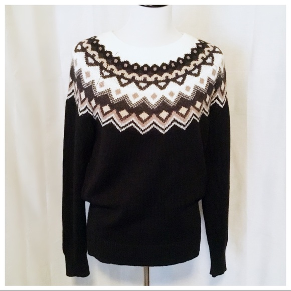 46% off Old Navy Sweaters - NWT! Old Navy Fair Isle Sweater ...